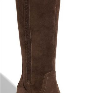 Ugg Tall Hartley Womens's Size 8 Brown Suede